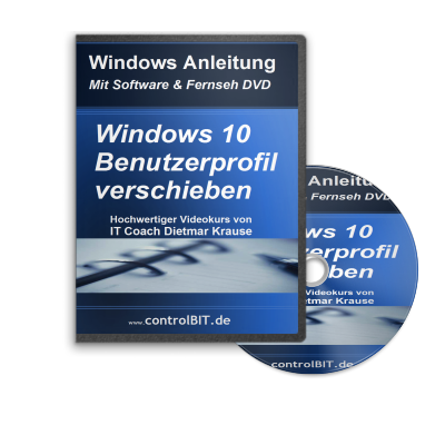 Windows 10 Benutzerprofil verschieben
